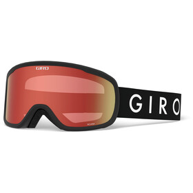 Giro Roam Masque Homme, black core/amber scarlet/yellow